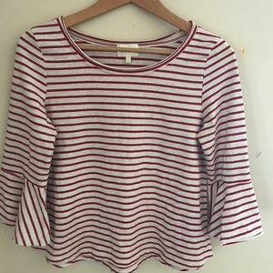 Deletta xs striped top